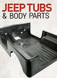 jeep body tub