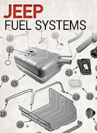 jeep fuel system parts